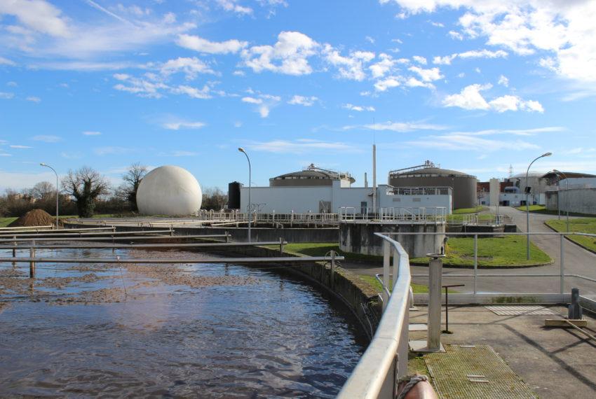 SUEZ – Activité Eau – Station d'épuration des Cinq Ponts de l'agglomération du Choletais