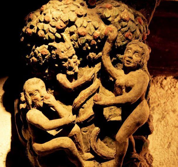 sculpture dans les caves du château Cassemichère