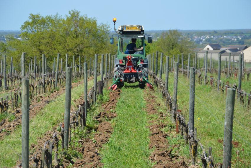 tracteur labour