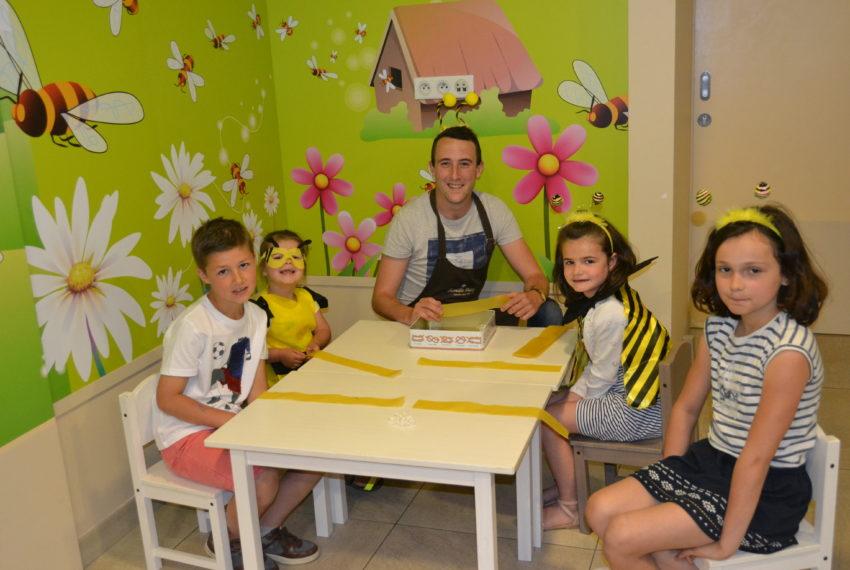 Atelier enfants Fabrique ton abeille