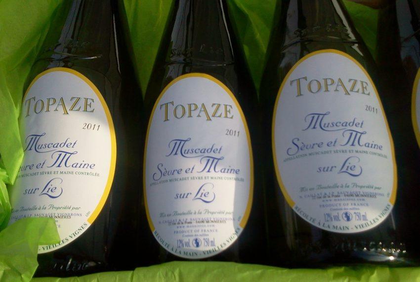 Gaec Topaze - Bouteille Etiquette