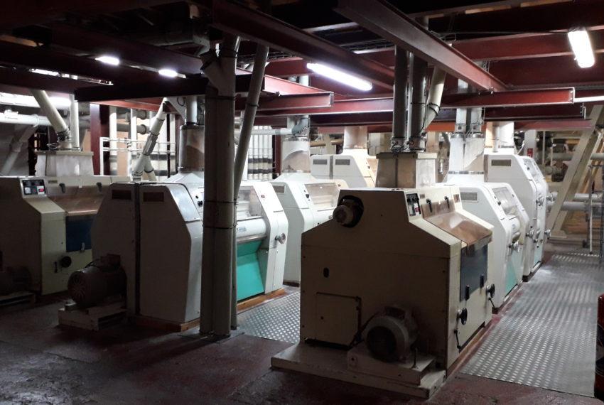 Les moulins réunis de la Sarthe - photo appareils à cylindre
