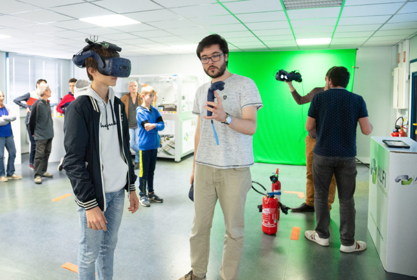 ALFI Technologies - Démonstration Réalité Virtuelle