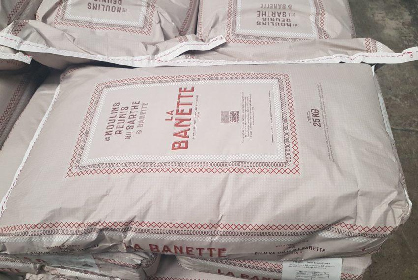 Moulins Réunis Sarthe sac Banette