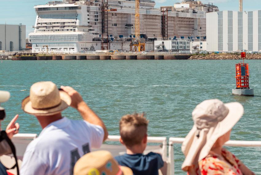 Croisière découverte Le Port, vues d'Estuaire